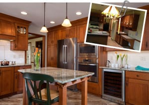 Boiling Springs Craftsman Kitchen