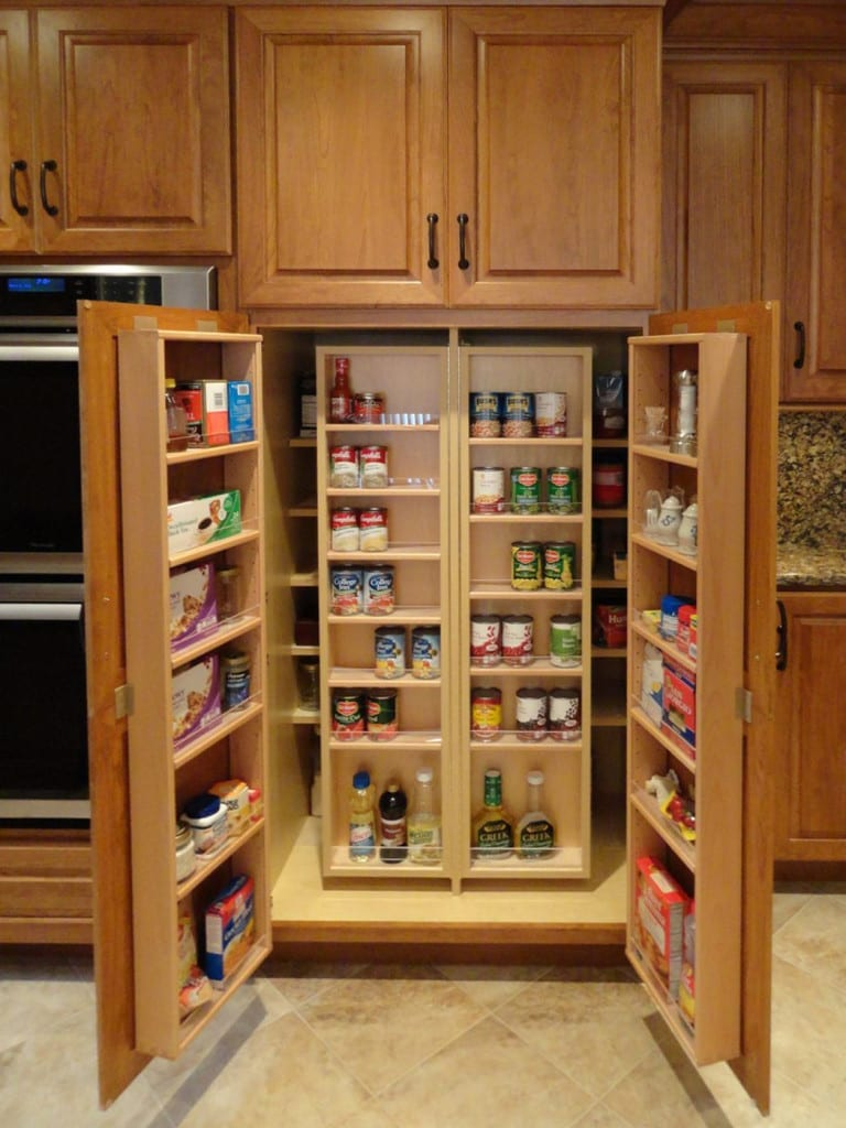Re imagining the Kitchen Pantry Cabinet   Mother Hubbard's Custom ...