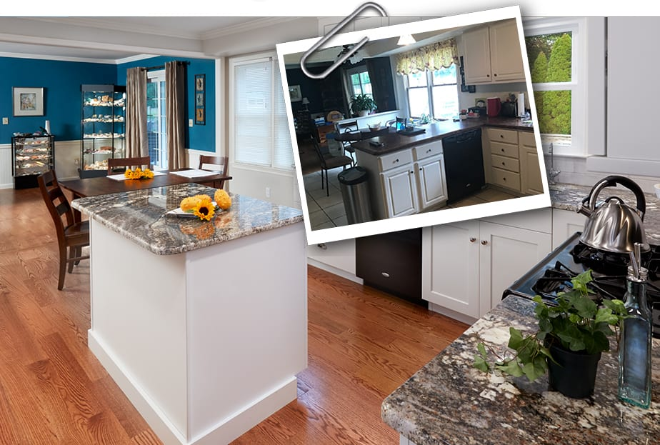 Hampden Township Colonial Center Hall Remodel Mother Hubbard S Custom Cabinetry