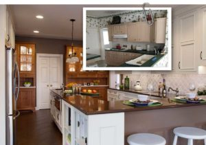 Lewisberry Builder Standard Kitchen Transformed